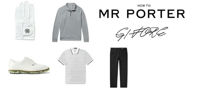 MR PORTER Launches New Golf Brand G/FORE