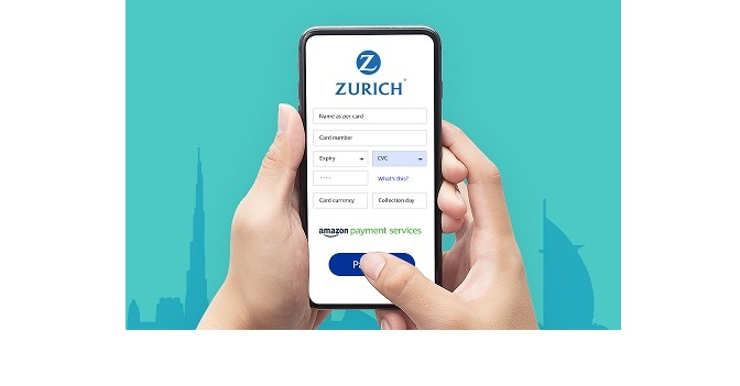 AMAZON PAYMENT SERVICES PARTNERS WITH ZURICH INTERNATIONAL LIFE LIMITED…..