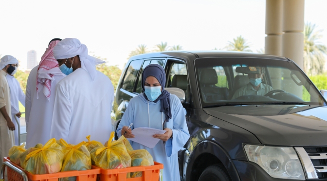 FOCP caters to the nutritional needs of cancer patients through its 'Ramadan Mir' food kits