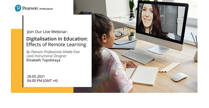 Pearson hosts a webinar discussing the key trends in digitalization of education