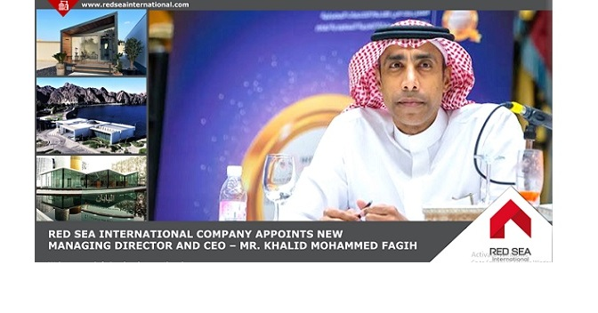 Red Sea International Appoints Industry Veteran Khalid Mohammed Fagih Managing Director and CEO