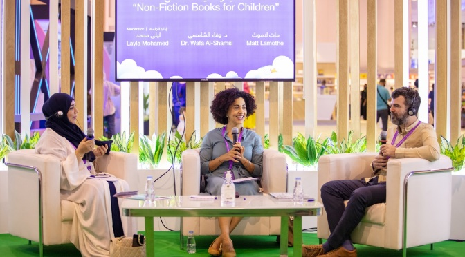 Captivating visuals and engaging content are key to attract children to the world of non-fiction, say authors at SCRF 2021
