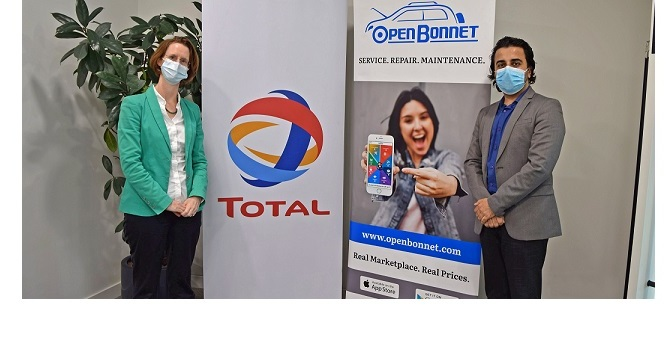 Total Marketing Middle East partners Open Bonnet to further enhance consumer experience