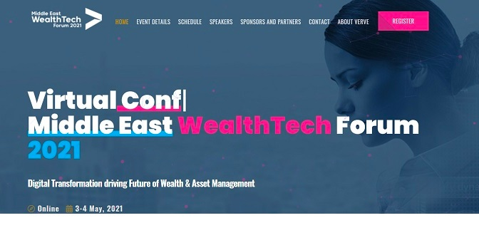 Middle East Wealth Tech Forum 2021 has officially launched