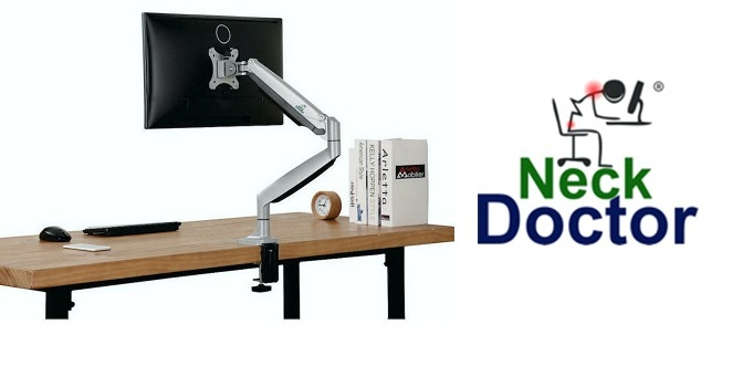 NeckDoctor products for TVs and Monitors gain traction in the UAE for a healthier work environment