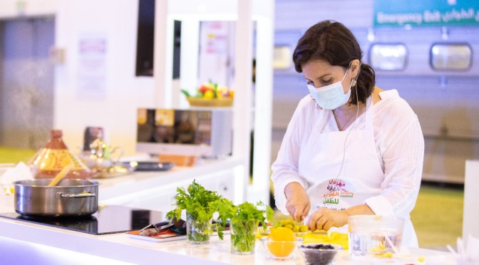 Food-making techniques and a colourful culture revealed at SCRF 2021