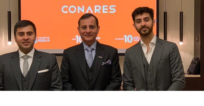 Conares marks10-10-10 milestone:Revenue at AED 10bn, Handled 10mn MT in 10 Years