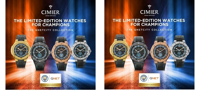 QNET Collaborates with ManCity to Launch New Swiss Watch Collection