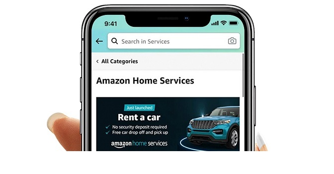 Amazon Home Services launches online car rentals to facilitate bookings from car rental companies for customers in the UAE
