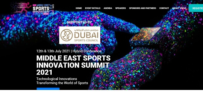 MIDDLE EAST SPORTS INNOVATION SUMMIT 2021 EVENT INTRODUCTION