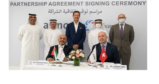 Acino and Pharmax collaborate to align with UAE's strategy to become a regional pharmaceutical manufacturing hub