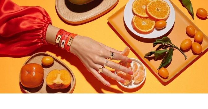 ORANGE YOU GLAD TO SEE MESSIKA'S MY MOVE COLLECTION?
