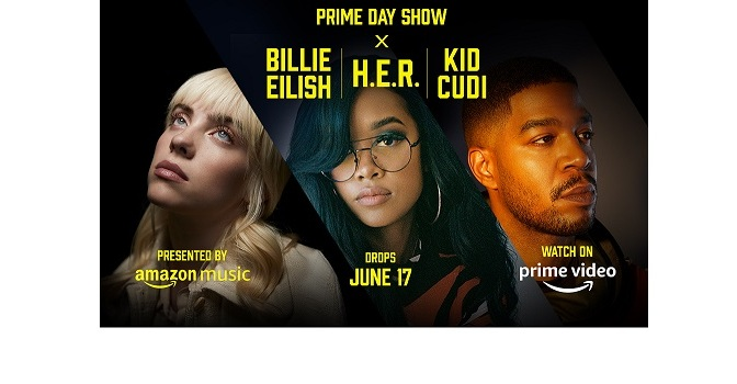 AMAZON REVEALS OFFICIAL TRAILER FOR THE PRIME DAY SHOW, …….