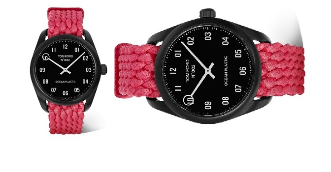 MR PORTER EXCLUSIVELY LAUNCHES TOM FORD OCEAN PLASTIC TIMEPIECE