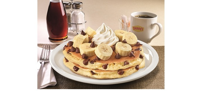 CHOCOLATE CHIP WEEK IS BACK AT DENNY'S