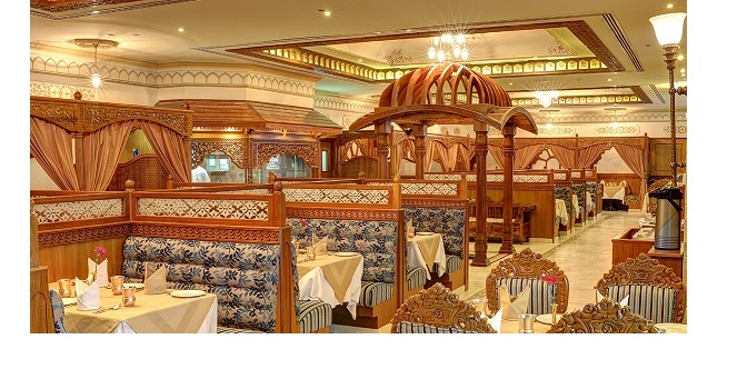 India Palace Restaurant wins The Best Service Performance outlet award ….