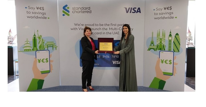 Standard Chartered UAE and Visa launch Multi-Currency Account for international payments