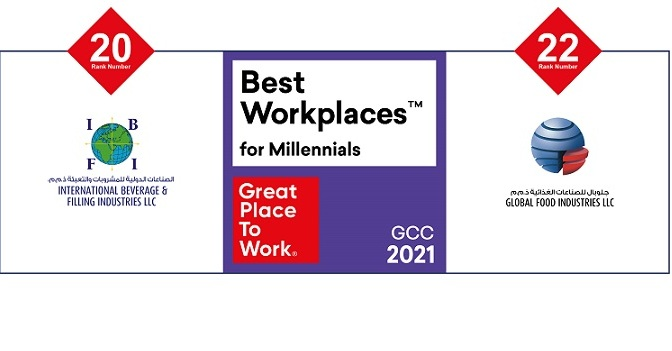 GFI and IBFI officially named one of the top 30 workplaces for Millennials in the GCC