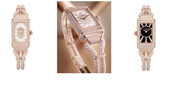 JAEGER-LECOULTRE PRESENTS THE REVERSO ONE CORDONNET JEWELLERY
