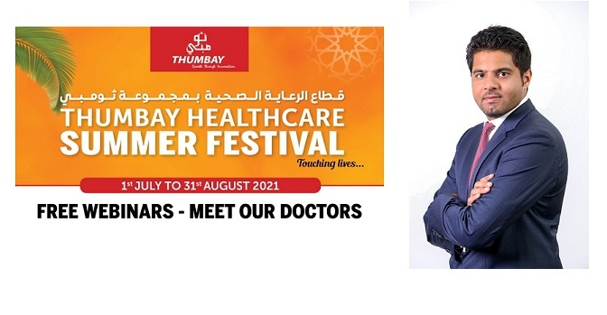 Thumbay Group announces 12 free webinars to educate public on prevalent health issues
