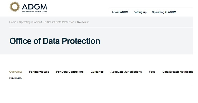 ADGM makes Rules under new Data Protection Regulations 2021