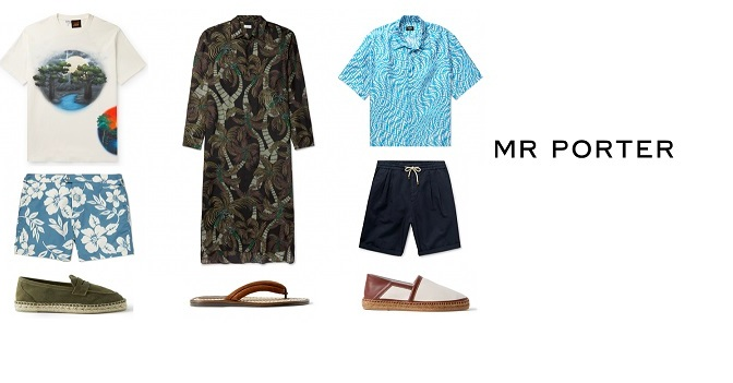 UPGRADE YOUR VACATION WARDROBE WITH THESE MR PORTER ESSENTIALS