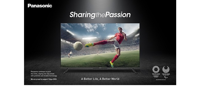 Catch the best of Olympic action on Panasonic 4K LED TVs