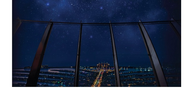 Take a journey through space at The View and discover Saturn and Jupiter from the highest vantage point on Palm Jumeirah