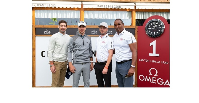 OMEGA Masters 2021 -Celebrities join Guido Migliozzi for the Pro-Am