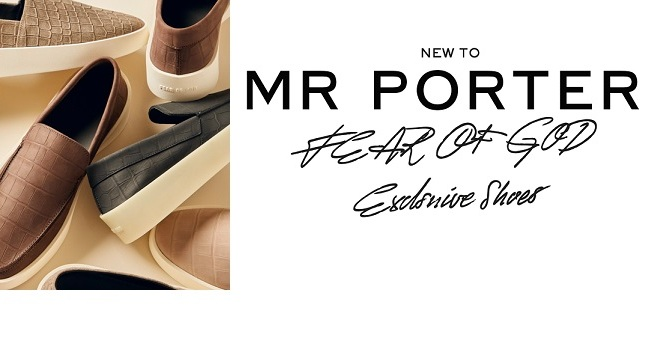 EXCLUSIVE TO MR PORTER – FEAR OF GOD