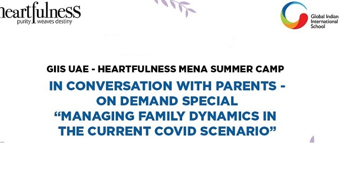 Global Indian International School And Heartfulness MENA Host an 'Exclusive'ON DEMAND Session – ……