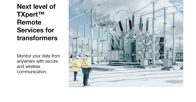 Hitachi ABB Power Grids introduces next level of TXpert™ Remote Services for transformers