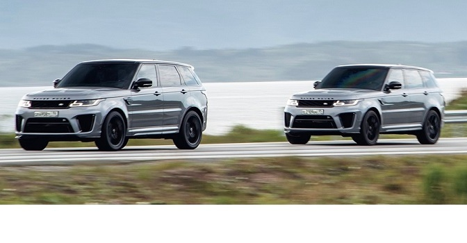 NEW BEHIND-THE-SCENES FOOTAGE SHOWS RANGE ROVER SPORT SVR …
