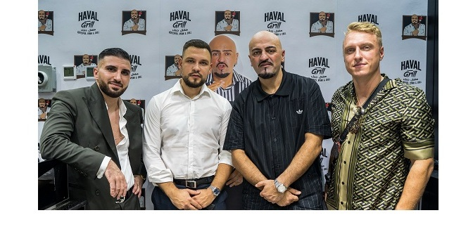 """Aras Group -Opens the first franchise of the famous German restaurant """"Haval Grill"""" in Jumeirah Street"""