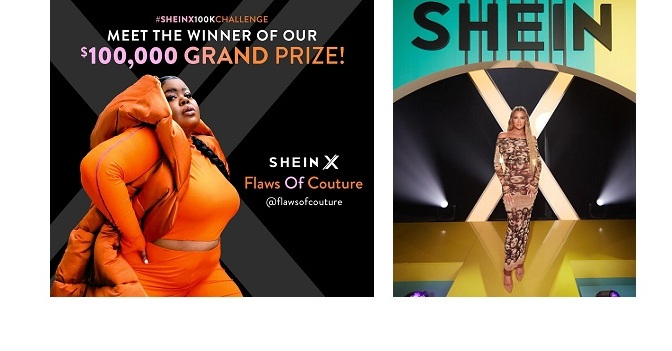 SHEIN X 100K CHALLENGE TO ANNOUNCE THE FINAL WINNER OF USD100K