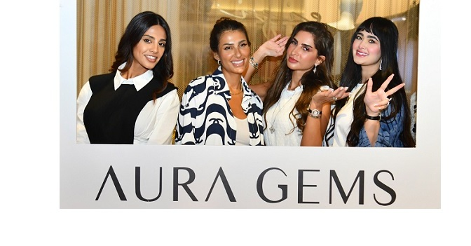 <strong>Jewelry designer Ola Fadel launches her brand AURAGEMS in Dubai</strong>