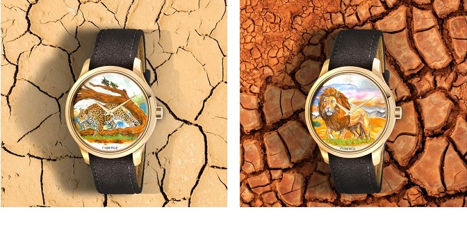 Fabergé Reveals the Altruist Wilderness Limited-EditionWatch Collection