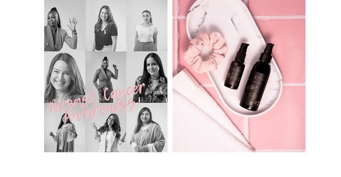 Ixora Organic Beauty continues its fightfor health with its latestbreast cancer awareness campaign