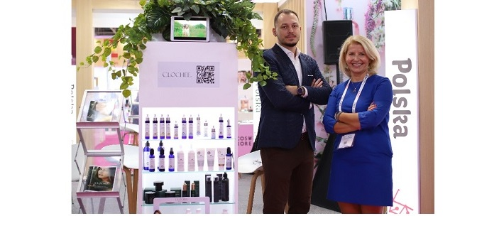 Poland pavilion highlights the country's potential for natural skincare products….